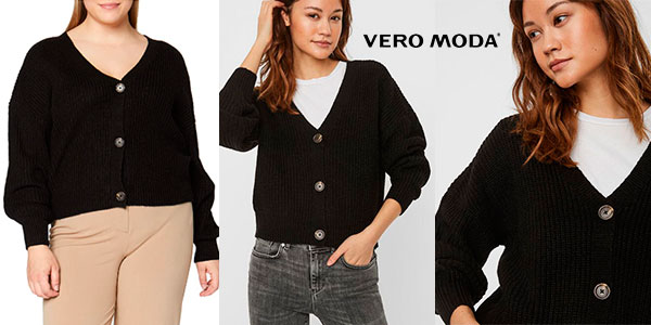 Chollo Cárdigan Vero Moda V-Neck Knitted para mujer