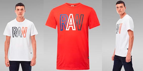 Chollo Camiseta G-Star Raw para hombre