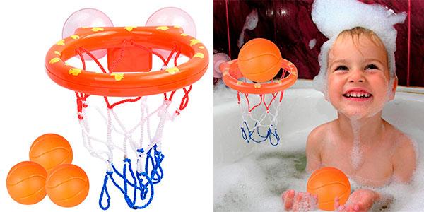 Chollo Mini canasta de baloncesto infantil Gxhong para el baño