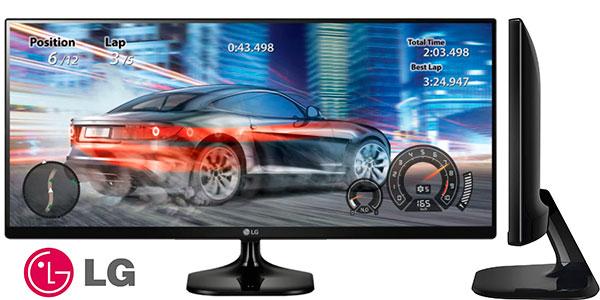 "Chollo Monitor ultra panorámico LG Ultrawide 21:9 Full HD de 25"""