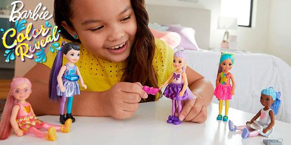 Chollo Muñeca Barbie Chelsea Color Reveal