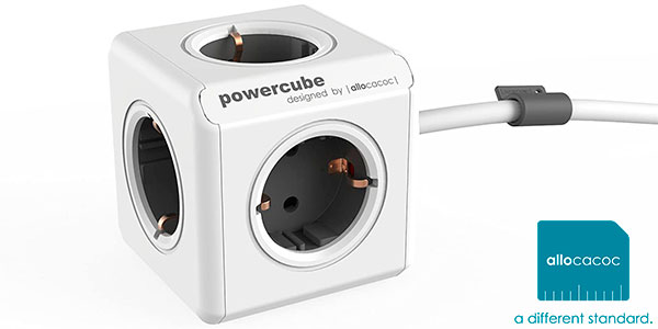 Chollo Hub PowerCube Extended de 5 enchufes