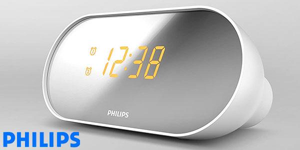 Chollo Radiodespertador Philips AJ2000 con radio FM