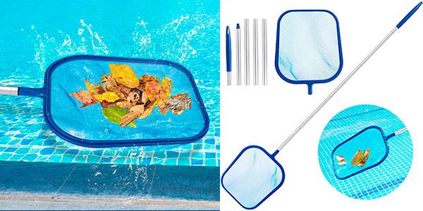Chollo Recogehojas de piscina Aiglam de aluminio
