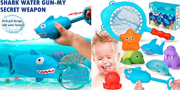 Chollo Set Lehoo Castle de juguetes de bañera para bebé