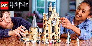 Chollo Set Torre del Reloj de Hogwarts de LEGO Harry Potter con 8 minifiguras