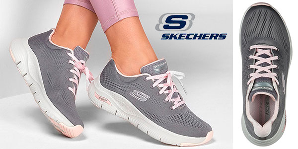 Chollo Zapatillas Skechers Arch Fit para mujer