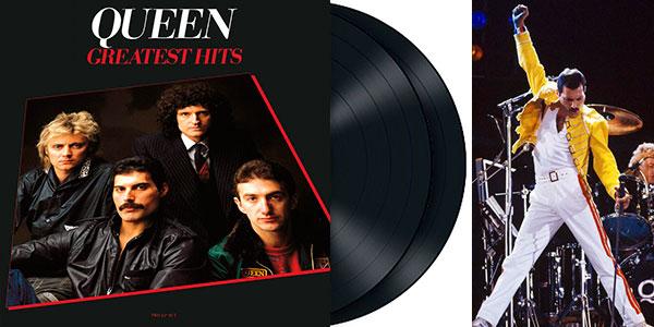 Chollo Vinilo doble Queen Greatest Hits con 17 canciones