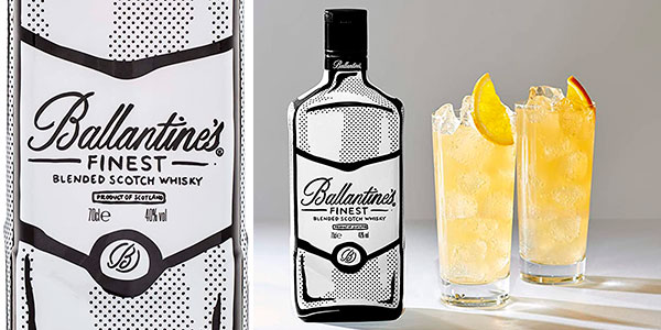 Chollo Whisky Ballantine's Finest Joshua Vides Limited Edition de 700 ml
