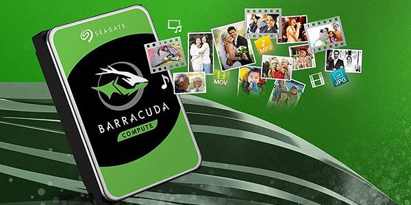 "Disco duro Seagate BarraCuda 3,5"" de 1 TB"