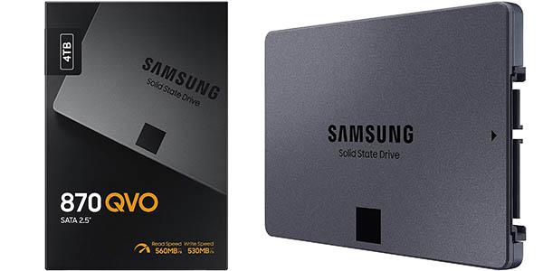 Disco SSD Samsung 870 QVO de 4 TB