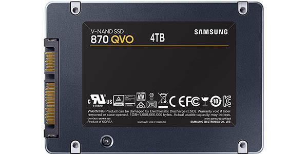 Disco SSD Samsung 870 QVO de 4 TB barato