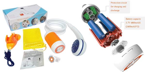 Ducha portátil Laserbeak oferta en Amazon