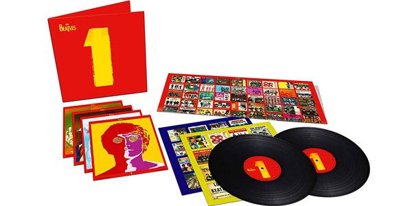 Edición limitada Doble vinilo 1 The Beatles barata en Amazon