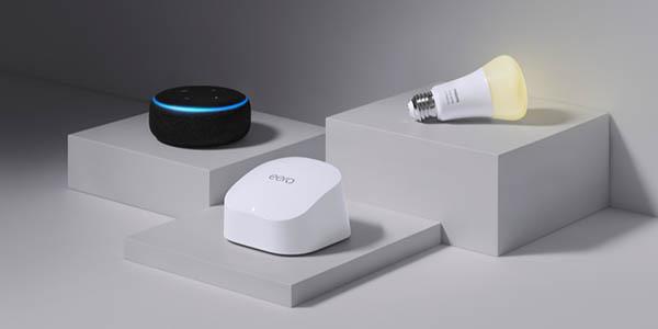 Amazon eero 6 ideal para hogares inteligentes