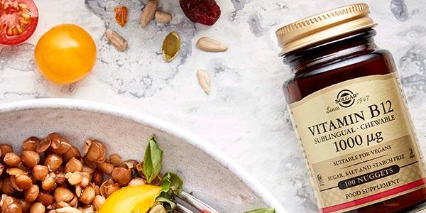 x250 Comprimidos masticables Vitamina B12 Solgar chollo en Amazon
