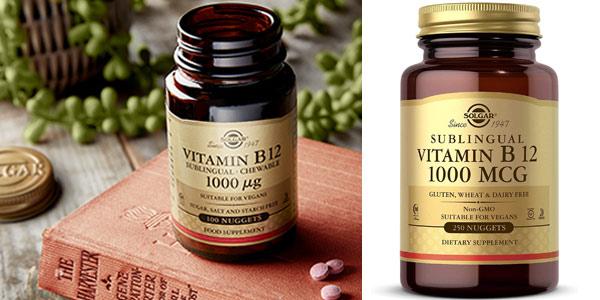 x250 Comprimidos masticables Vitamina B12 Solgar barato en Amazon