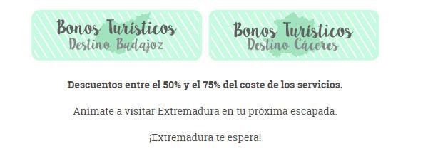 Extremadura Bonos turísticos