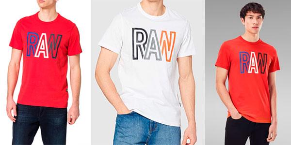Camiseta G-Star Raw para hombre barata