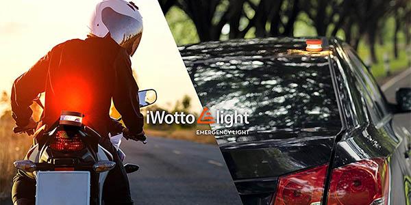 Luz LED emergencia iWotto E light V 16 homologada DGT en Amazon