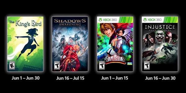 Juegos GRATIS con Gold de junio 2021 para Xbox