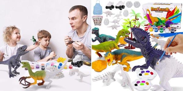 Kit de pintura para niños Magicfun con figuras de dinosaurios Magicfun barato en Amazon