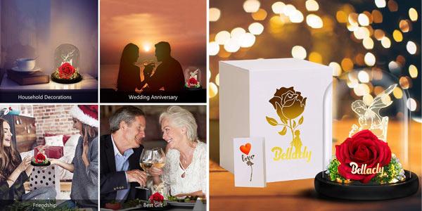 Kit de regalo Rosa de La Bella y la Bestia de Bellaely barato en Amazon