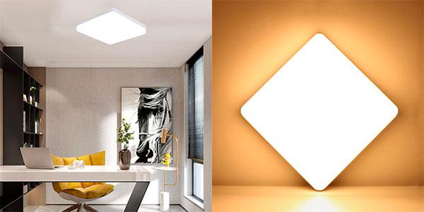 Lámpara LED de techo Kimjo de 36 W en oferta