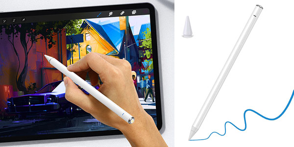 Lápiz electrónico Zspeed Stylus Pen 3nd Gen con Palm Rejection barato en Amazon