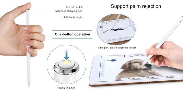 Lápiz electrónico Zspeed Stylus Pen 3nd Gen con Palm Rejection oferta en Amazon
