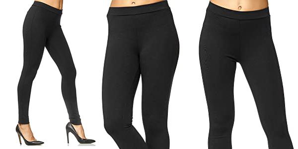 Pantalón elástico Skinny Fit Legging Elara para mujer barato en Amazon