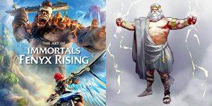 Libro de arte The Art of Immortals Fenyx Rising