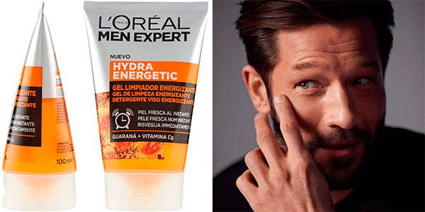 Chollo Gel limpiador energizante L'Oréal Men Expert Hydra Energetic de 100 ml para hombre