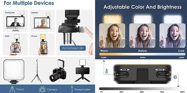 luz cámara ordenador videoconferencias Esmart oferta