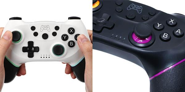 Mando Bluetooth para Nintendo Switch en varios colores