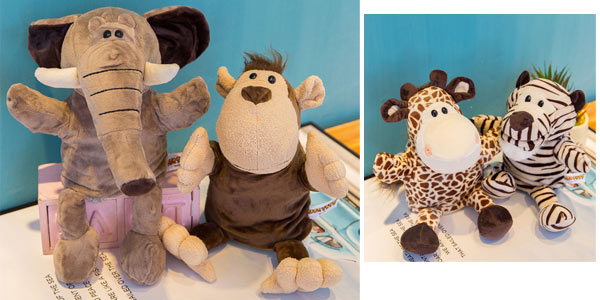 Marionetas de mano de animales chollo en Aliexpress