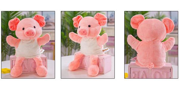 Marionetas de mano de animales oferta en Aliexpress