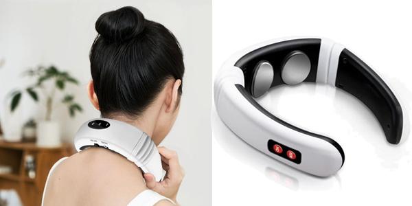 Masajeador eléctrico de cuello chollo en AliExpress