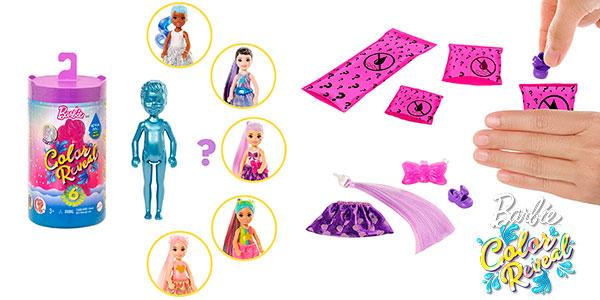 Muñeca Barbie Chelsea Color Reveal barata