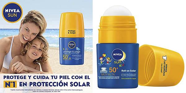Nivea Sun Roll-on solar Protege Juega chollo