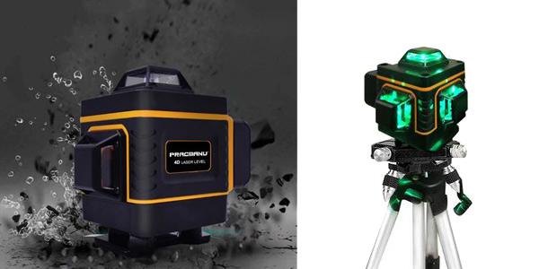 Nivel láser 4D Pracmanu con soporte barato en aliExpress