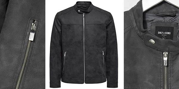 Only Sons Onsjasper Pu jacket Otw vd cazadora oferta