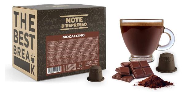 Pack x100 Cápsulas de Mocaccino Note d'Espresso Italiano barato en Amazon