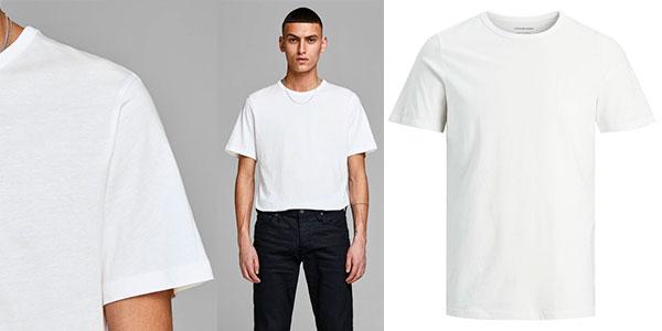 Pack de 2 camisetas Jack & Jones Jacbasic para hombre barato