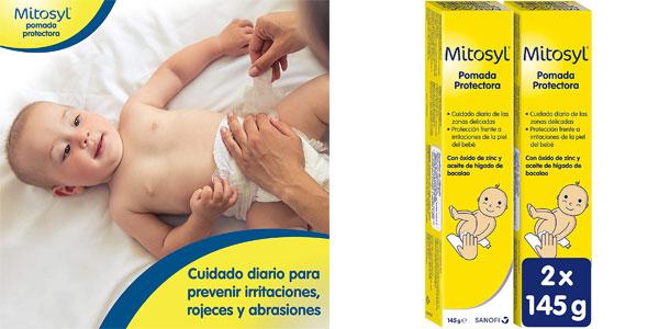 Pack x2 Crema Pañal Mitosyl de 145 gr/ud barato en Amazon