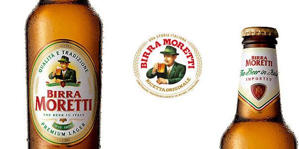Caja x24 botellas de cerveza lager Birra Moretti de 33 cl chollo en Amazon