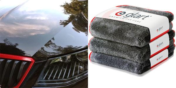 Pack x3 Gamuzas Glart Premium Car Care barato en Amazon