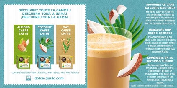 Pack x36 cápsulas veganas Nescafé Dolce Gusto Coco Latte chollo en Amazon
