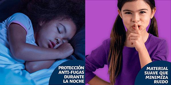 Pack de 52 pañales Dodot HappyJama antifugas para niñas barato