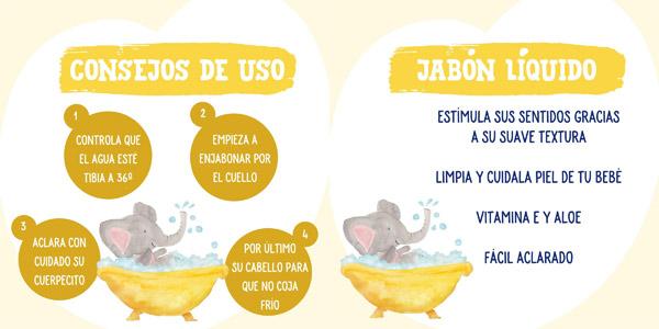 Pack x6 Jabón líquido Nenuco ultra suave de 750 ml/ud chollo en Amazon